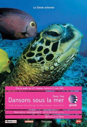 affiche Deep Sea dansons sous la mer