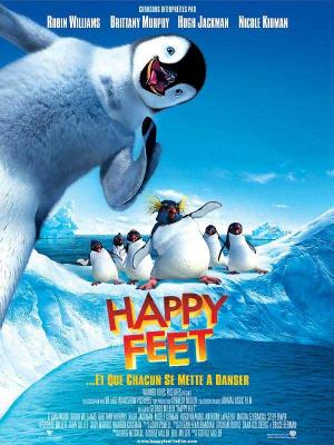 Affiche Happy Feet