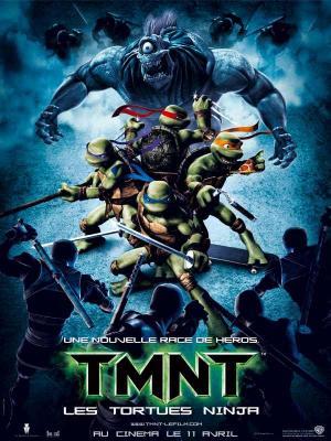 Affiche TMNT les tortues ninja