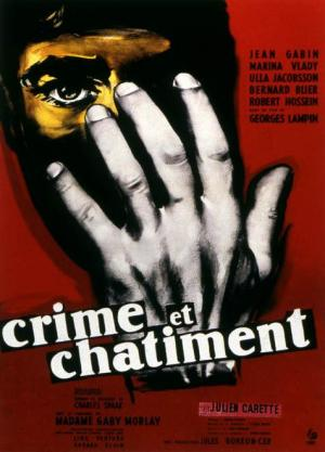 Affiche Crime et Chatiment