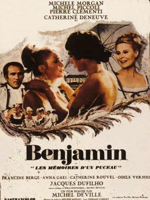 Affiche Benjamin ou les mémoires d'un puceau