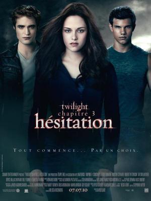 Affiche Twilight, chapitre 3 : Hésitation