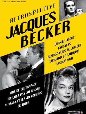 Affiche Rétrospective Jacques Becker