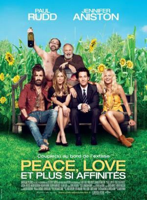 Affiche Peace, Love et plus si affinités