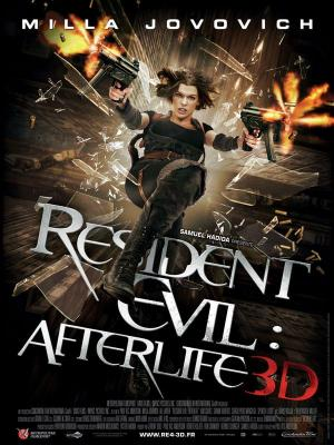 Affiche Resident Evil : Afterlife 3D