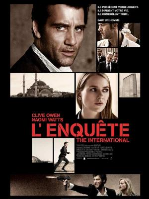Affiche L'Enquête - The International
