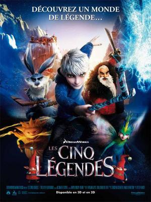 Affiche Les Cinq légendes