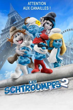 affiche Les Schtroumpfs 2