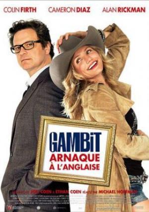 Affiche Gambit : Arnaque à l'anglaise