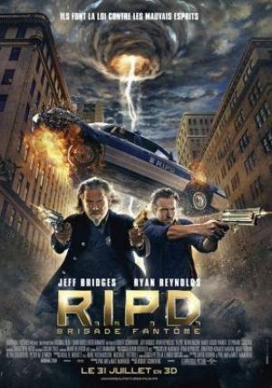 affiche R.I.P.D. Brigade fantôme