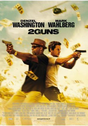 affiche 2 Guns