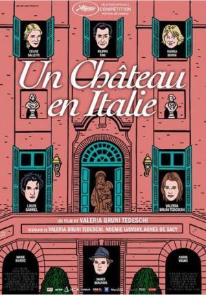 Affiche Un château en Italie