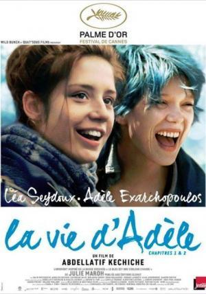 affiche La Vie d'Adèle - Chapitres 1 et 2