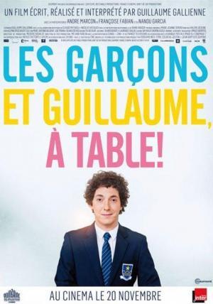 Affiche Les garçons et Guillaume, à table!