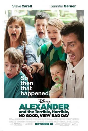 affiche Alexandre et sa journée épouvantablement terrible, horrible et affreuse