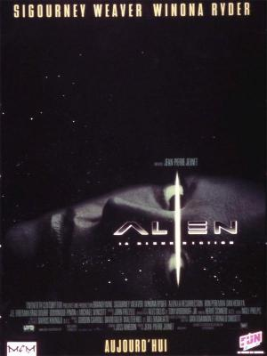 Affiche Alien, la résurrection
