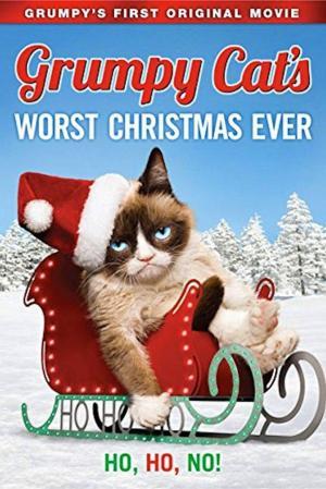 affiche Joyeux Noël Grumpy Cat !