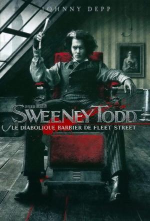 affiche Sweeney Todd, le diabolique barbier de Fleet Street