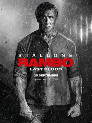 Affiche Rambo : Last Blood
