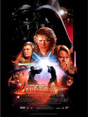 Affiche Star Wars, épisode III - La Revanche des Sith