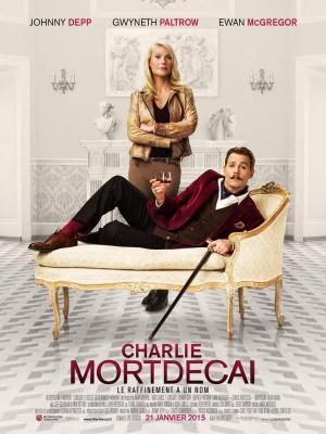 Affiche Charlie Mortdecai