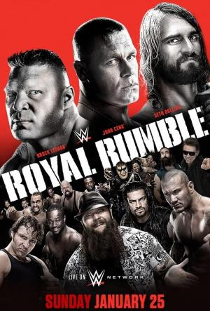 Affiche WWE Royal Rumble 2015