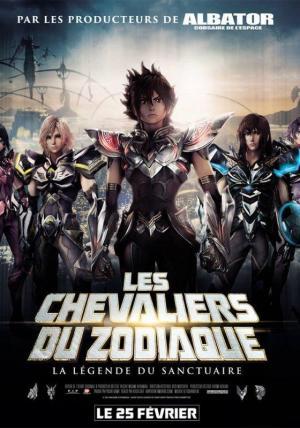 Affiche Les Chevaliers du Zodiaque - La Légende du Sanctuaire