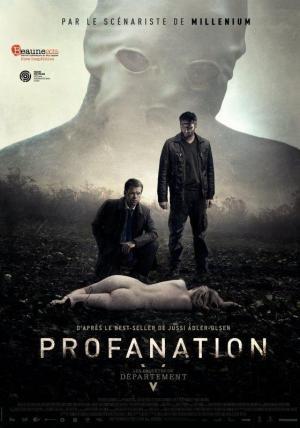 Affiche Profanation : les enquêtes du département V