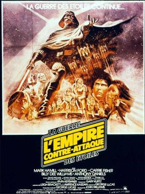 Affiche Star Wars, épisode V - L'Empire contre-attaque