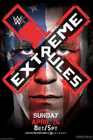 affiche WWE Extreme Rules 2015