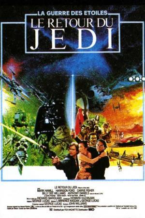 Affiche Star Wars, épisode VI - Le Retour du Jedi