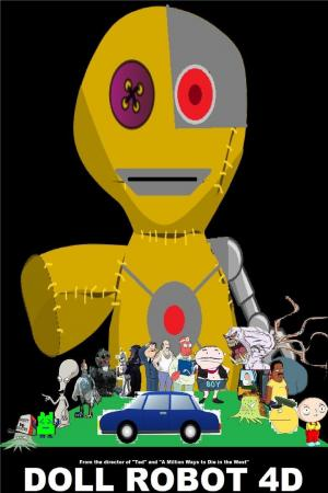 Affiche Doll Robot 4D