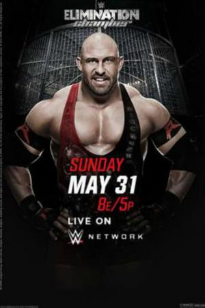 affiche WWE Elimination Chamber 2015
