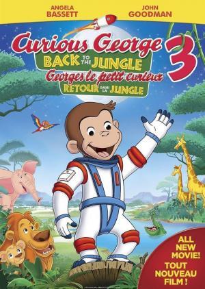 Affiche Georges le petit curieux 3 : Retour dans la jungle