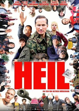 Affiche Heil - Une farce néonazie