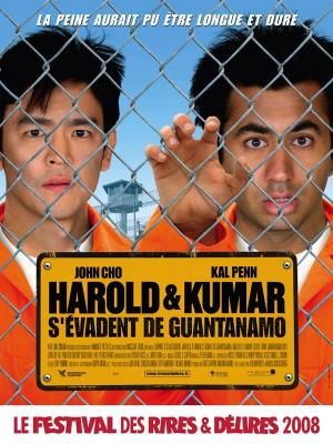 Affiche Harold et Kumar s'évadent de Guantanamo