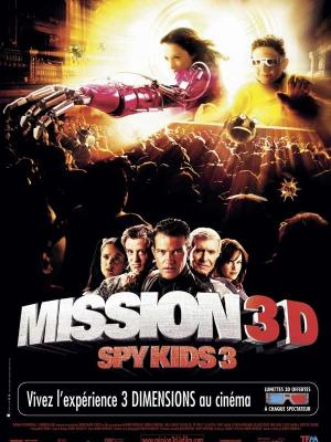 Affiche Mission 3D Spy kids 3