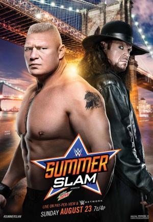 affiche WWE SummerSlam 2015