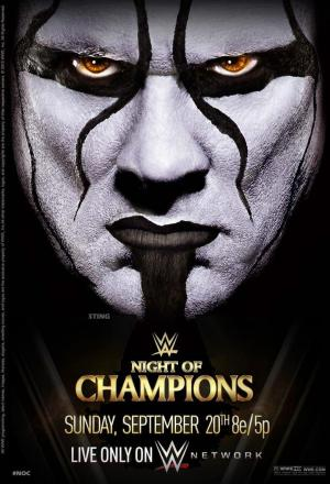 Affiche WWE Night of Champions 2015