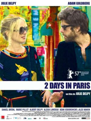 Affiche 2 Days in Paris