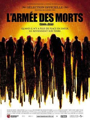 Affiche L'Armée des morts