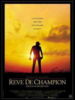 Affiche Rêve de champion