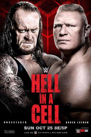 Affiche WWE Hell in a Cell 2015
