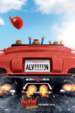 affiche Alvin et les Chipmunks - A fond la caisse