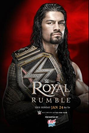 Affiche WWE Royal Rumble 2016