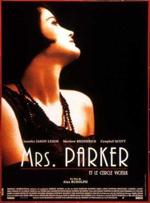 Affiche Mrs. Parker et le cercle vicieux