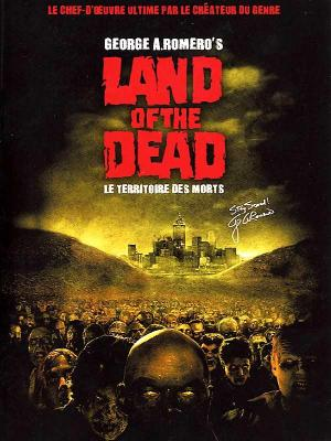 Affiche Land of the dead (le territoire des morts)