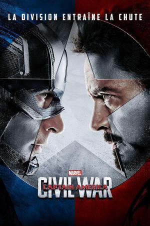 Affiche Captain America - Civil War