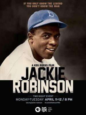 Affiche Jackie Robinson