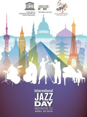 Affiche Jazz at the White House